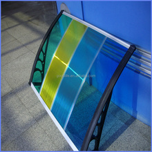 High impact strength hollow sheet/skylight/awning/canopy with nice appearance