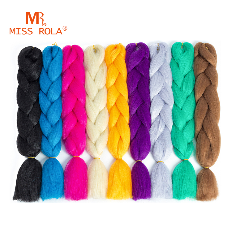 2017 wholesale factory price kanekalon crochet twist braid synthetic hair extensions