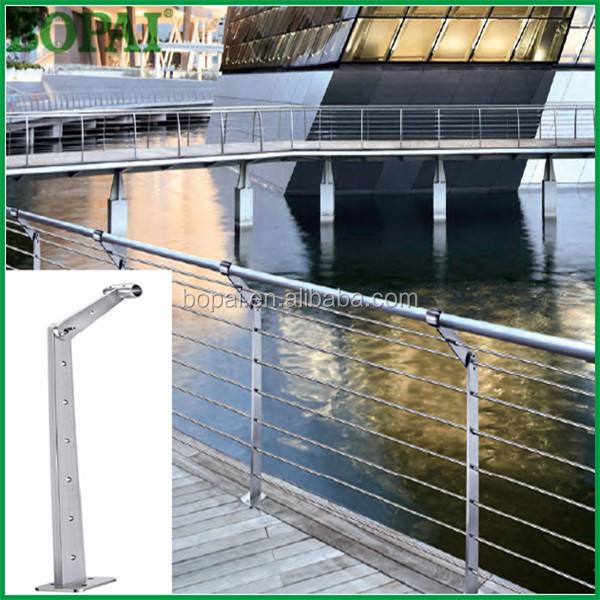Stainless steel structural cable handrail,cable railing