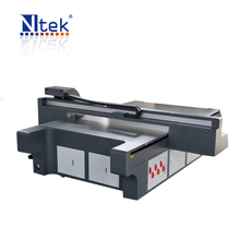 Stable performance large format multicolor NTEK UV Flatbed printer YC2030S,PC/Acrylic Uniform plate lampshade printing machine