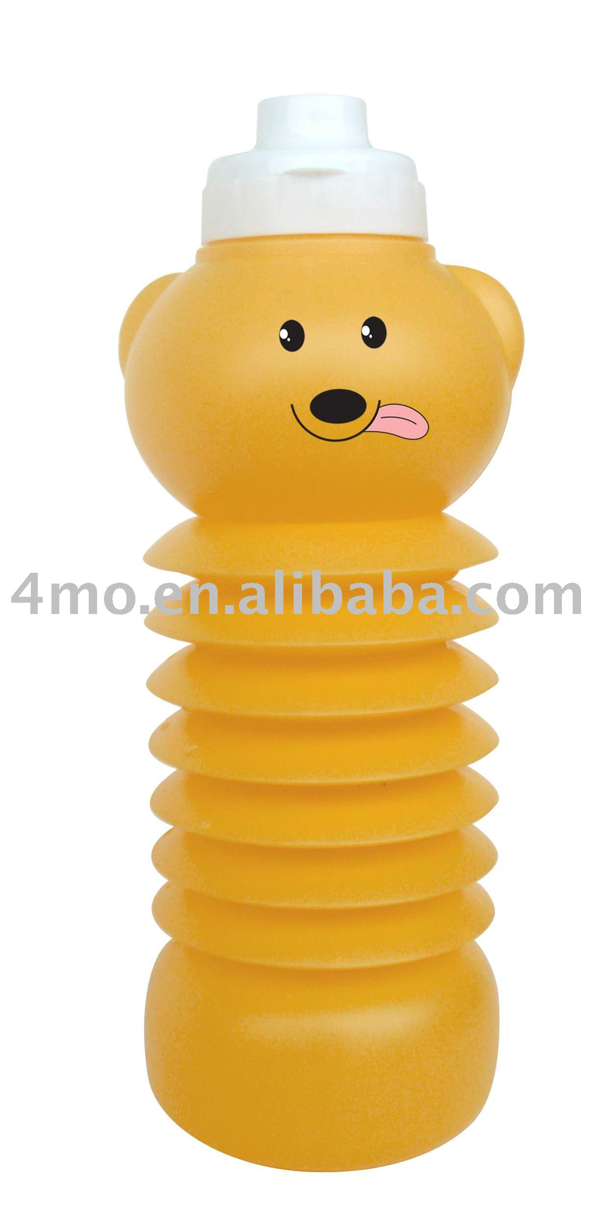 collapsible cartoon water bottle Dog shaped