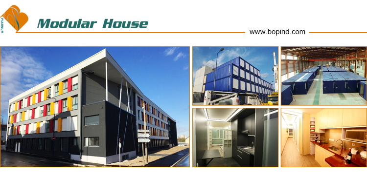 CE Certified light gauge steel passive house