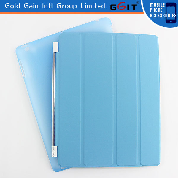 Slim Smart PU Leather Hard Cover Case For iPad Air 5