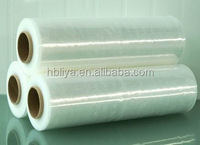 China Supplier Clear Water Proof LLDPE / PE stretch wrap film