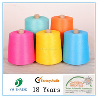 Cone Dyed 100% Polyester DTY Yarn for Producing