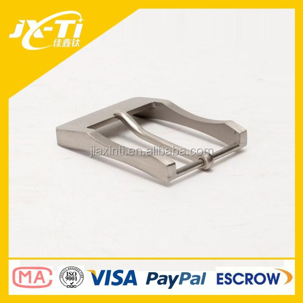 top grade titanium metal belt buckle ,professional accessories for belt