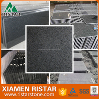 China Padang dark seame black G654 granite