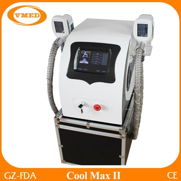 Multifunction Body Slimming Skin Care Cryo RF Vacuum Cavitation Machine