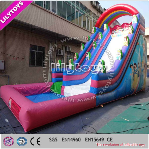 Outdoor Durable PVC Used Inflatable Water Slides for Sale