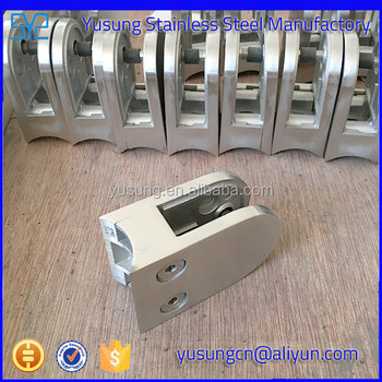 Stainless steel D clamp/Q railing clamp/Side mounting clamp