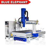 High Quality 4 Axis Multi Function Woodworking Carving Machine CNC Router 1325 Machine