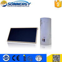 Home Application flat panel solar water heater Flat plate solar collector