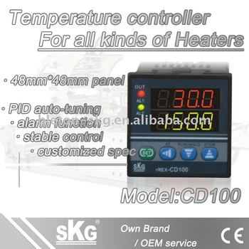 CD100 heater pid controller 220VAC 110VAC 24VAC 24VDC 380VAC switch power supply