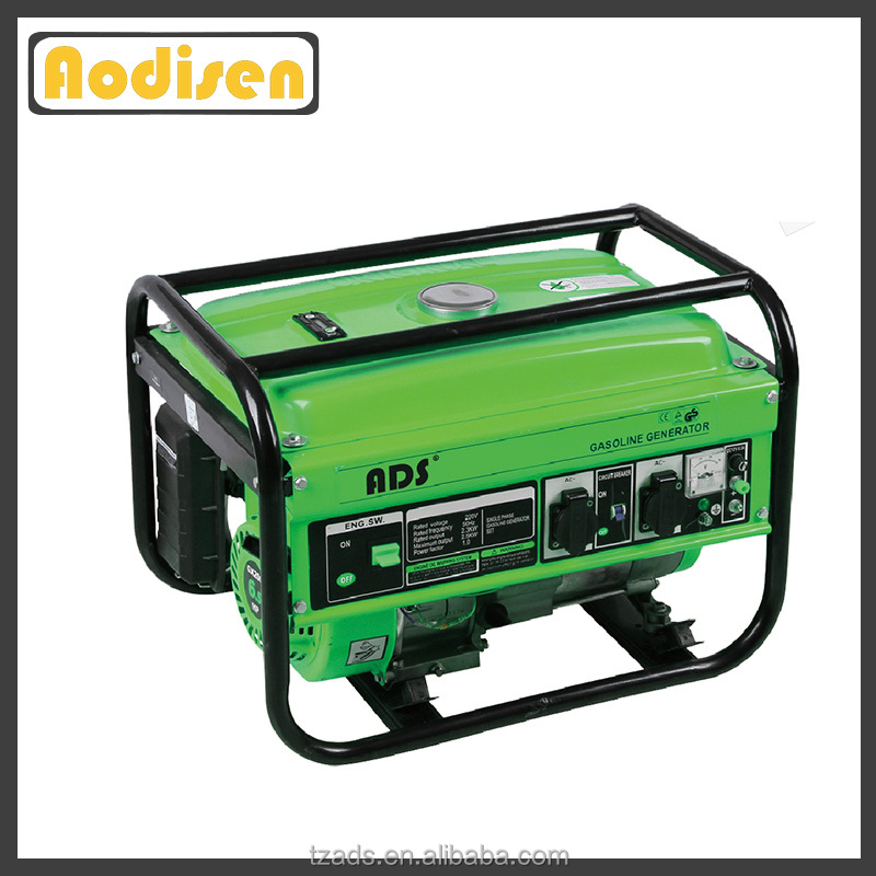 best quality home use iso 9001 4 stroke 2kw gasoline generators