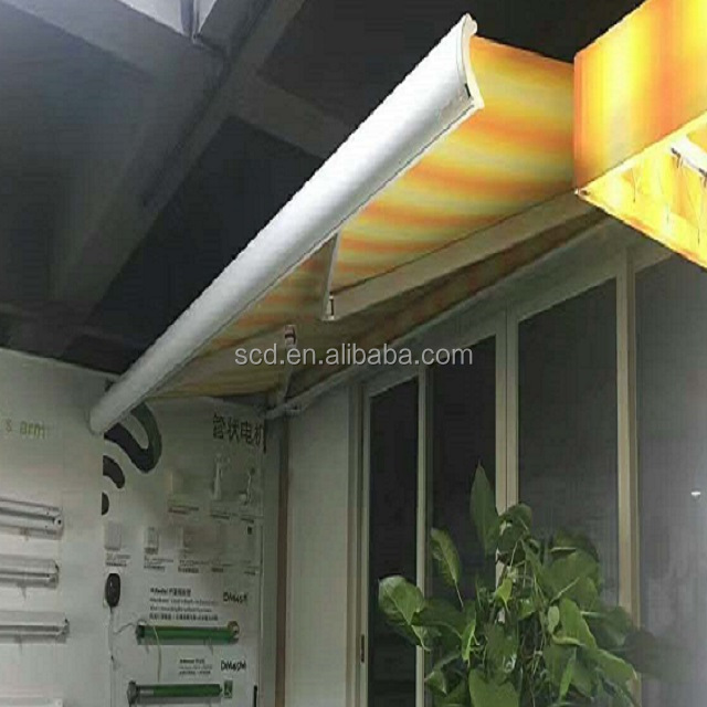 Best Quality full Cassette Retractable Folding Chain Arm Awning