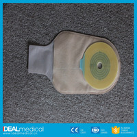 Ostomy care One-Piece Closed Pouch for patients with solid faces and regular excretion .