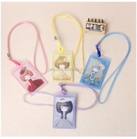 Kawaii lanyard work card sleeve lanyard student ID name card holder lanyard