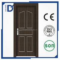 china suplier OEM serive mdf pvc wrapped wood doors and windows