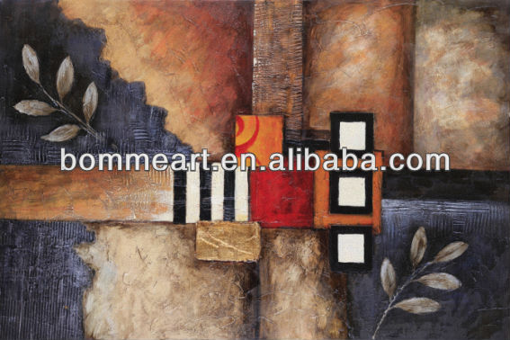 High quality easy oil painting pictures wall art