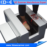 CAD CAM software 3d laser foot scanner with high precision