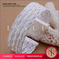 Popular nickel and lead free classic imports jewelry plated silver B160