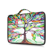 colorful custom neoprene laptop sleeve women wholesale fancy laptop bag 15.6