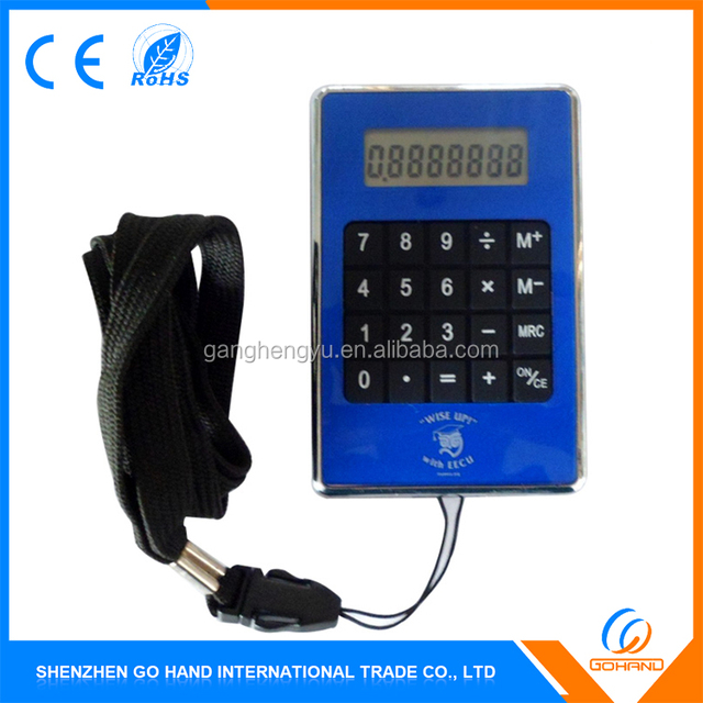 Best Quality Cheapest Gift 8 Digit Pocket Calculator With Hanger Hole