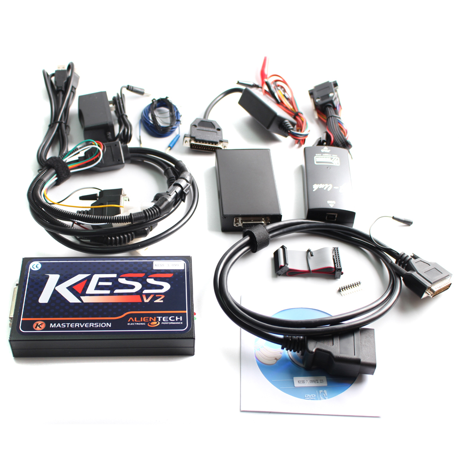 2017 BEST KESS V2 V2.10 V2.13 V2.15 V2.23 V3.099 Master No Token Reading Limited Version Firmware 3.099 KESS V2 Main Unit