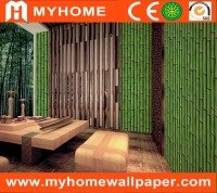 living room 4d bamboo print wallpaper guangzhou