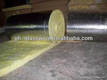 KN excellent fibreglass wool / glass wool insulation with Aluminium foil/ thermal insulation building materials