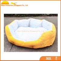2016 luxury soft pet dog bed