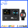 170 Degree Original Ambarella dash cam Sensor Remot control 4K wifi sport camera for driving