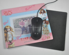 Hot Selling pp photo frame with photo insert customized Photo frame Mouse Pad
