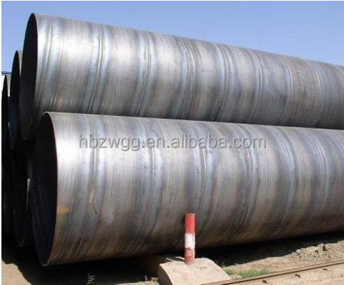 ASTM A53 grade B Q235 steel tube, API 5L SSAW steel pipe, SSAW