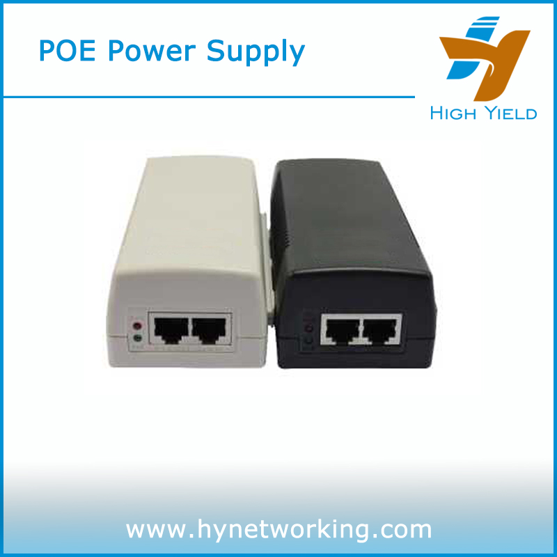 HY301G- 30W HY Brand Single port with LED injector&splitter poe splitter