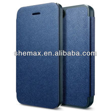 Dark Blue Slim Flip Case for iPhone 5S, For iPhone 5S Cover