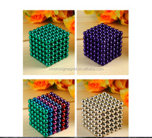 5mm Colorful 216 pcs Neodymium Bucky balls Neo Cube Magic Cube Puzzle Magnetic Magnet Balls Spacer Spheres Beads with Gift Box
