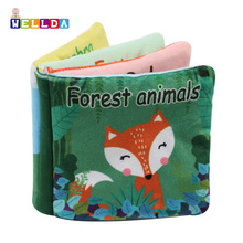 Baby soft fabric learning book,educational infant cloth books