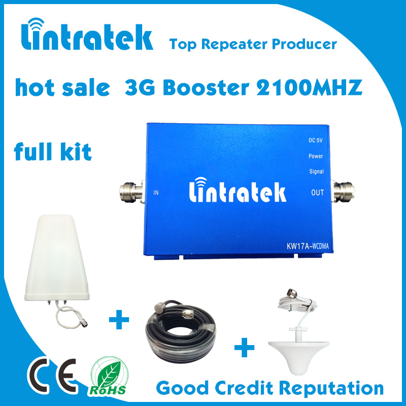 Signal repeater for WCDMA/ UMTS 3G mobile signal booster /2100mhz frequency mini size signal amplifier