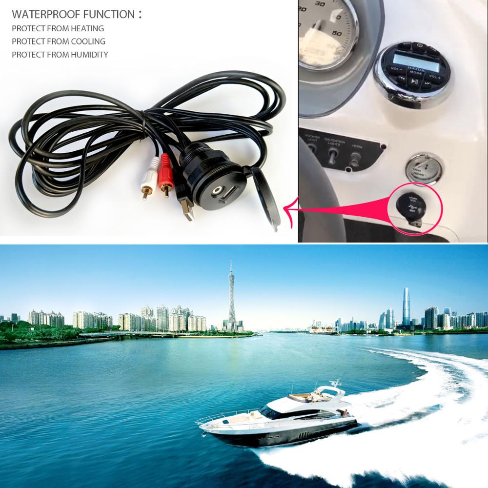 wholesale RCA USB adapter H-071 for yacht
