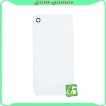 white black color housing cover For iPhone 4 4G battery door back cover
