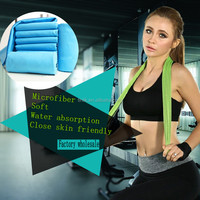 Fashionable Microfiber Suede Fitness Running Sweat Absorbing Sports Towel