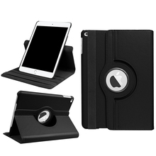 For APPLE iPad 9.7 2017 360 Degree Rotating pu leather smart cover tablet case