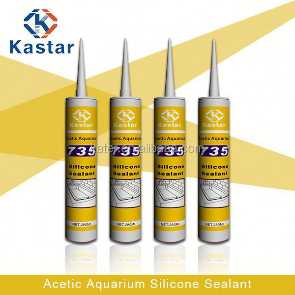 Freshwater fish in the aquarium silicone sealant