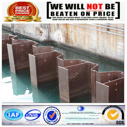 3# hot rolled Larssen steel Sheet Pile SY295