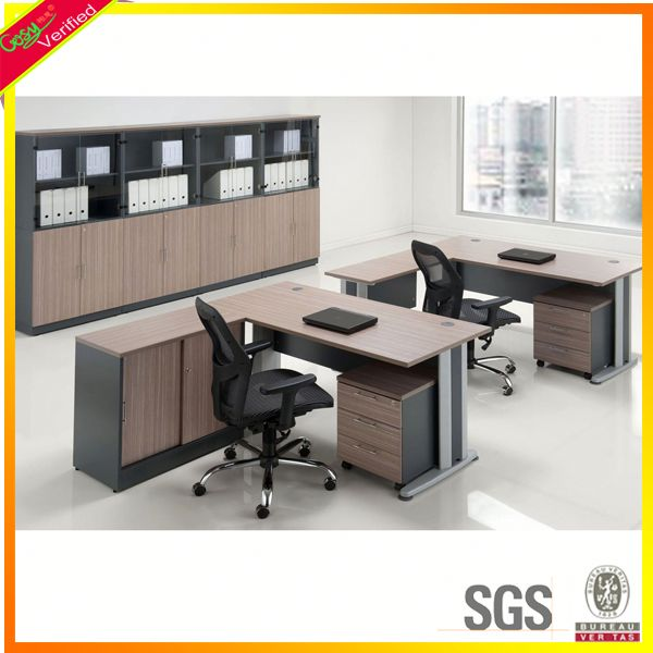 Melamine walnut colour manager desk china furniture