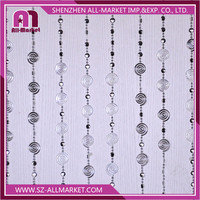 2016 New Decorative String Curtain Plastic Acrylic Beads AM013A