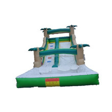 2017 hot cheap used inflatable water slide for sale