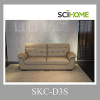 Korea sofa furniture three seater heated leather sofa leather couch
