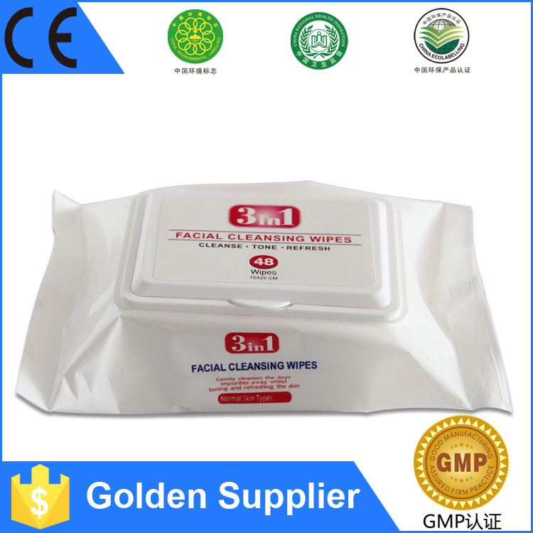 Super September Brand Factory Wholesale Hand and Face cleaning wet tissue paper